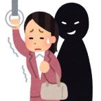 【恐怖】男が20分間電車内で痴漢→ 女性が降りて女子トイレに逃げ込んだ結果…(画像あり)
