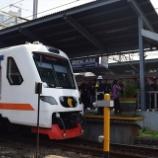 『スカルノ・ハッタ空港特急Bekasi乗り入れ試験実施(5月30日)』の画像