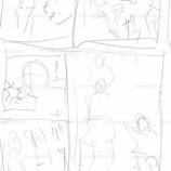 『漫画ネーム「ストリートバスケ_(短編)」40ページに伸ばす』の画像