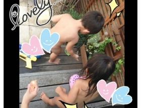 【画像】辻希美さんが子供の全裸画像を公開wwwww