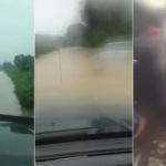 【動画】中国、洪水の中に車で突入して、車がどれくらい走れるか試してみた! [海外]