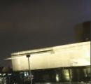中国 上海に巨大三角形UFO出現