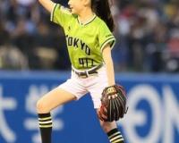 芦田愛菜ちゃんの始球式のフォームwww www www