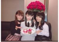 【15期生】向井地美音と込山榛香が土保瑞希の誕生日をお祝い!