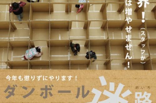 【訃報】富山県民唯一の娯楽のダンボール迷路が男数人に破壊されるのサムネイル画像