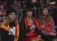 松井珠理奈、島田晴香、宮脇咲良が新日本プロレス1.4東京ドーム観戦