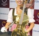 【画像あり】これが1億5000万円する純金製バイオリンらしい