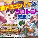 『【ドラガリ】第11回ドラガリアフェスを引いていく!』の画像