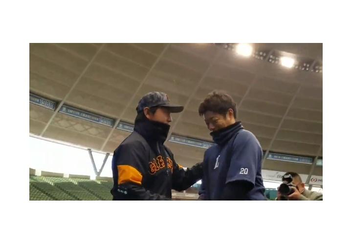 【 動画 】西武に移籍した高木勇人が巨人ベンチに挨拶!選手たちとハグ!なんかほっこりw