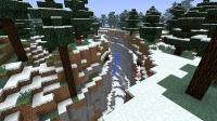 雪国の露出峡谷の改造準備