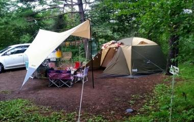 『第1回S✩camp! 1日目その2(無印良品カンパーニャ嬬恋キャンプ場)』の画像