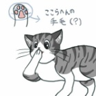 『【絵】手づくろい( ・∇・)』の画像