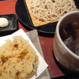『季節の天ぷらとねぎせいろ蕎麦@天割烹そば 神田 阪急うめだ本店』の画像