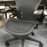 『【中古オフィス家具】アーロンチェア ポスチャーフィット Aサイズ 前傾チルト無し【15周年記念モデル】』の画像
