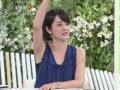 【速報】NHK若手女子アナが脇を全開に見せてしまうwwwww(画像あり)