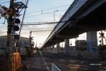 高架道路のある風景。第二京阪ができるまではここだけだった。郡津4丁目~交野まちなみ日記No.58~