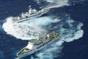 日本と台湾の尖閣での水鉄砲対決 イギリスでも報道wwww