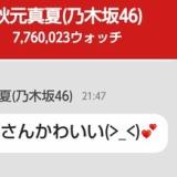 秋元真夏「指原さんかわいい(>_<)♡♡」