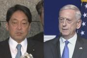 「地上型イージス」 最速で日本に整備を 小野寺防衛相、米マティス国防長官と会談