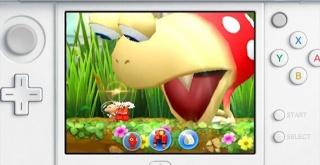 ニンテンドー3DS『ピクミン』最新作、横スクロールアクションになって登場!
