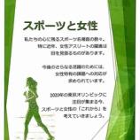 『知ってほしい!スポーツと女性の活躍。戸田市役所2階で男女共同参画パネル展示されています。』の画像
