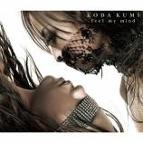 『【×年前の今日】2004年2月18日:倖田來未 - feel my mind(3rd ALBUM)』の画像