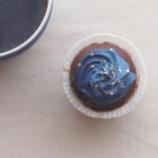 『【ゆず活レシピ】ゆずの果汁でさわやかな甘みの「星空カップケーキ」を作ろう』の画像