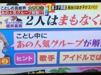 【悲報】今年解散しそうなグループに欅坂46が予言されるwwwwwwww