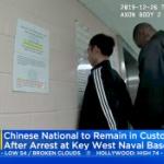 【動画】米国、また中国人が海軍基地に侵入!中国人留学生2人を逮捕 [海外]