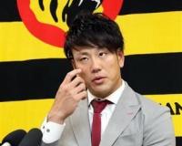 【阪神】中谷、500万円減の3000万円「新しいことに挑戦」