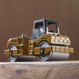 『ダイソー 働く車(ミニ) KONG XK68 ロードローラー』の画像