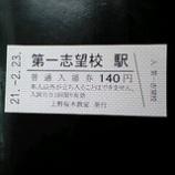『合格切符』の画像