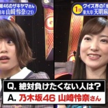 『【乃木坂46】『山崎怜奈さんには絶対に負けたくない・・・』』の画像