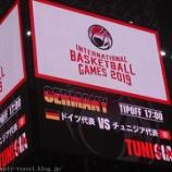 『バスケットボール日本代表国際試合 ドイツVSチュニジア(シュルーダーチャレンジ)@さいたまスーパーアリーナ 観戦レポート』の画像