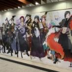 刀剣乱舞5周年広告を見てきた、福岡、大阪、名古屋、北海道をコンプ