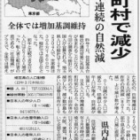 『戸田市の人口増加率2.09%で埼玉県1位』の画像