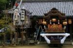 だんじりが大迫力!私市の天田神社の秋祭に行ってみた
