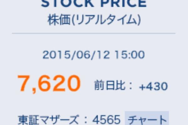 バイオ おそるべき タカラ 株価