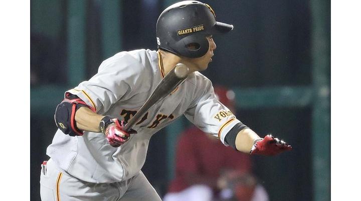 巨人・立岡宗一郎(27)  .217(178-37)  7打点  41三振  出塁率.246