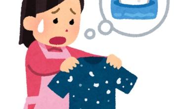 【裏ワザ】ティッシュまみれになった洗濯物をきれいにする方法