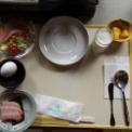 宝川温泉の朝食