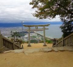 絶景!天空の鳥居「高屋神社」へ行ってみる♪