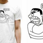 「ナイキ」と「ジャイアン」がまさかのコラボ?「TANKI 」パロディTシャツ