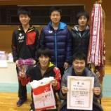 『◇仙台卓球センタークラブ◇ 第85回北日本卓球大会 結果』の画像