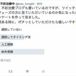 『【お知らせ】ツイッターでアンケート実施中です٩(ˊᗜˋ*)و』の画像