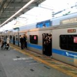 『小田急線(その2) 夕ラッシュ時混雑・代々木上原駅での乗降観察』の画像