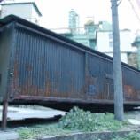 『放置貨車 テキ200形テキ214』の画像