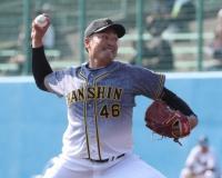 【阪神】秋山 猛アピール3回零封 差し込んだ直球に手応え