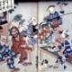 妖怪の日常生活を描いた浮世絵画像を貼っていく