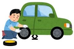 店でタイヤ交換しても、1本500円で4本で2000円だろ。自分でしなくても良いのでは?